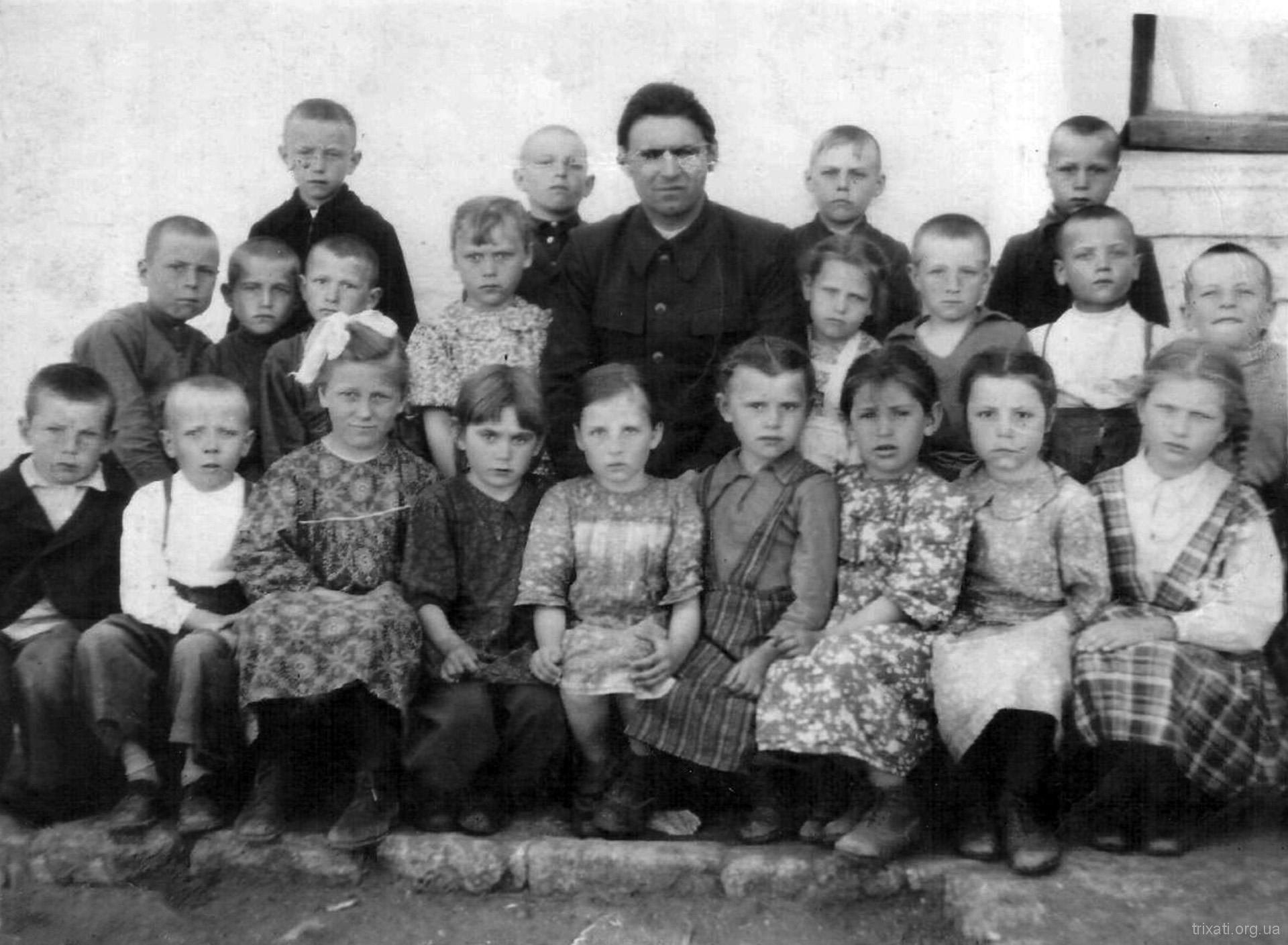 Першокласники. 1951 рік