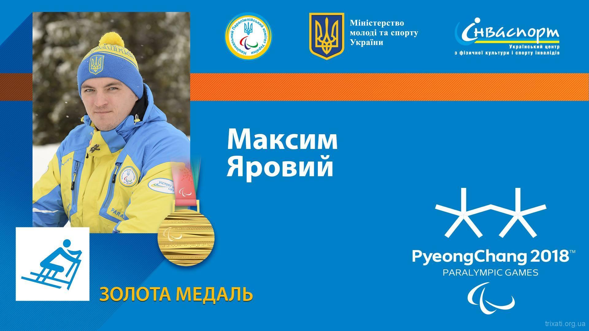 Яровий Максим Перше Олімпійське Золото