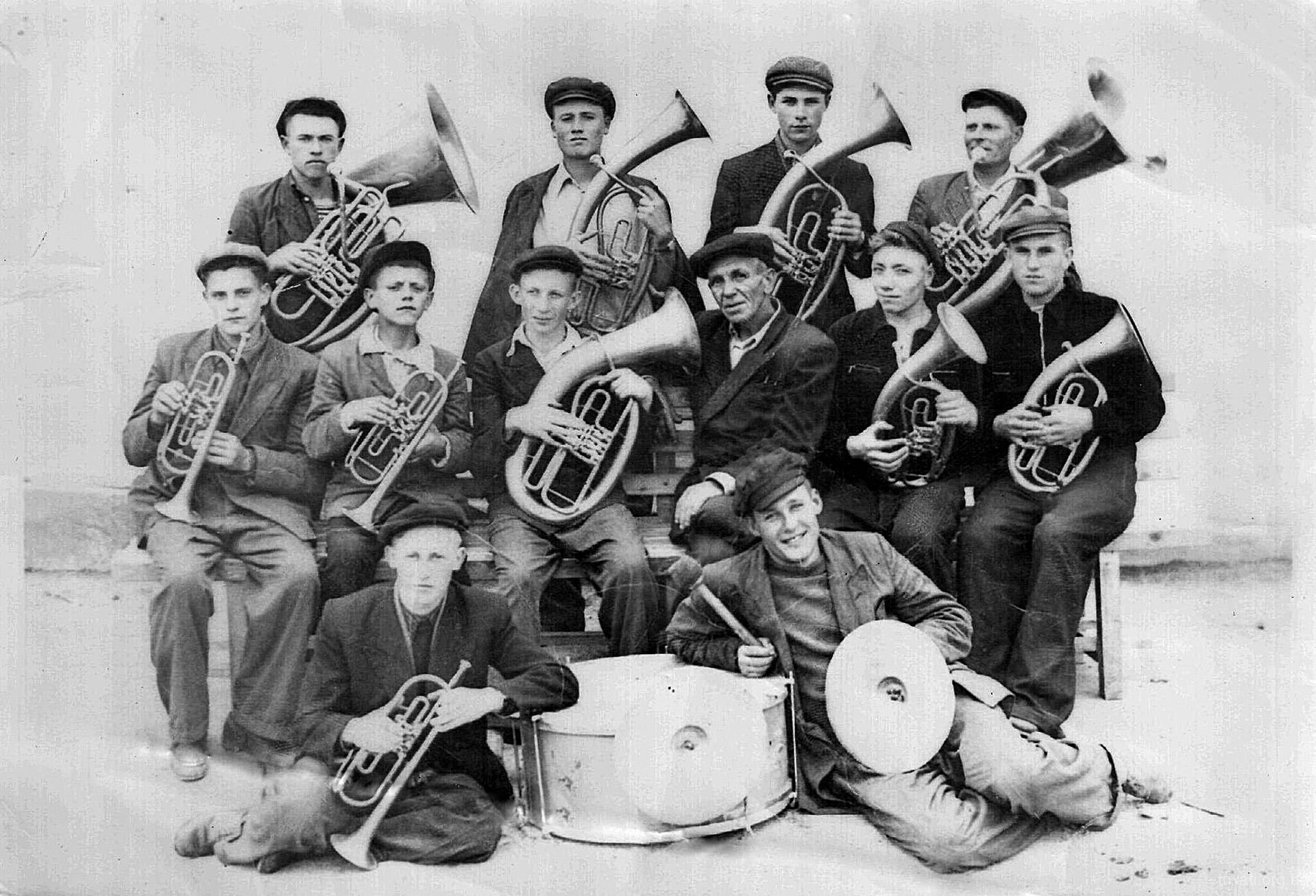 Трихатський Духовий Оркестр. 1955 рік