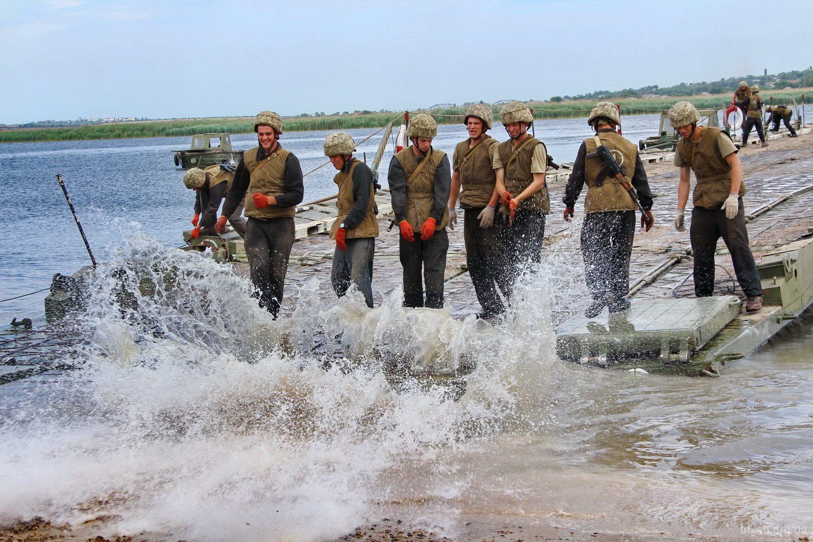 Трихати. Військові навчання 2018