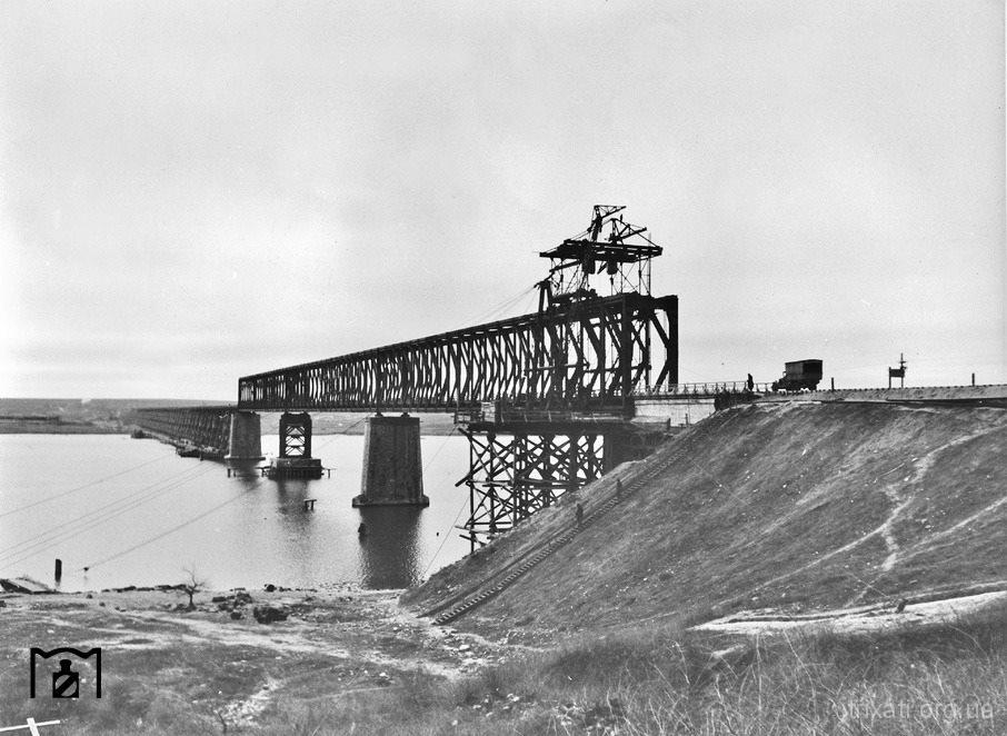 Трихатський міст через Буг. 1943 рік