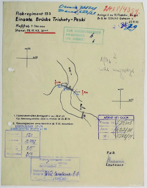 Схема дислокації вермахту